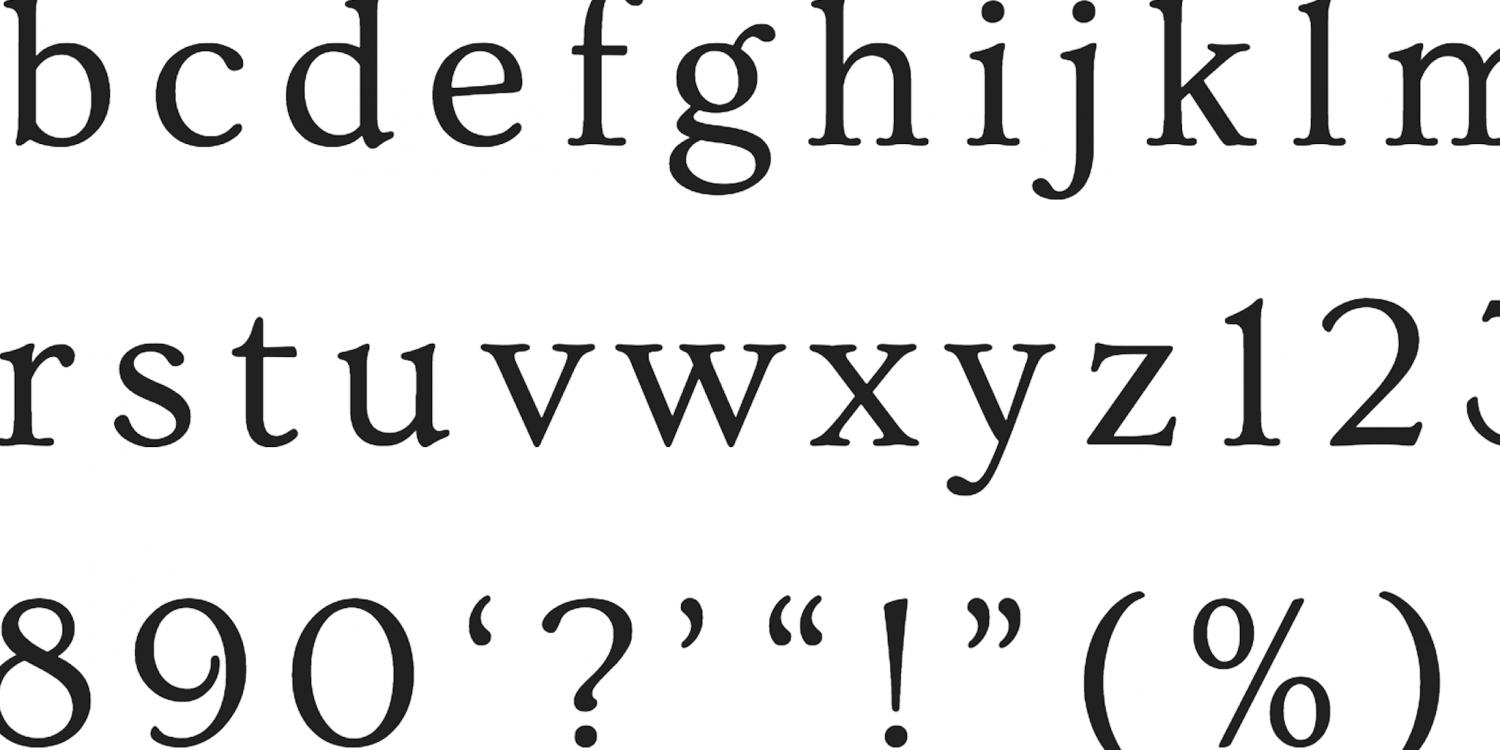 fontasia font displaying letters of alphabet