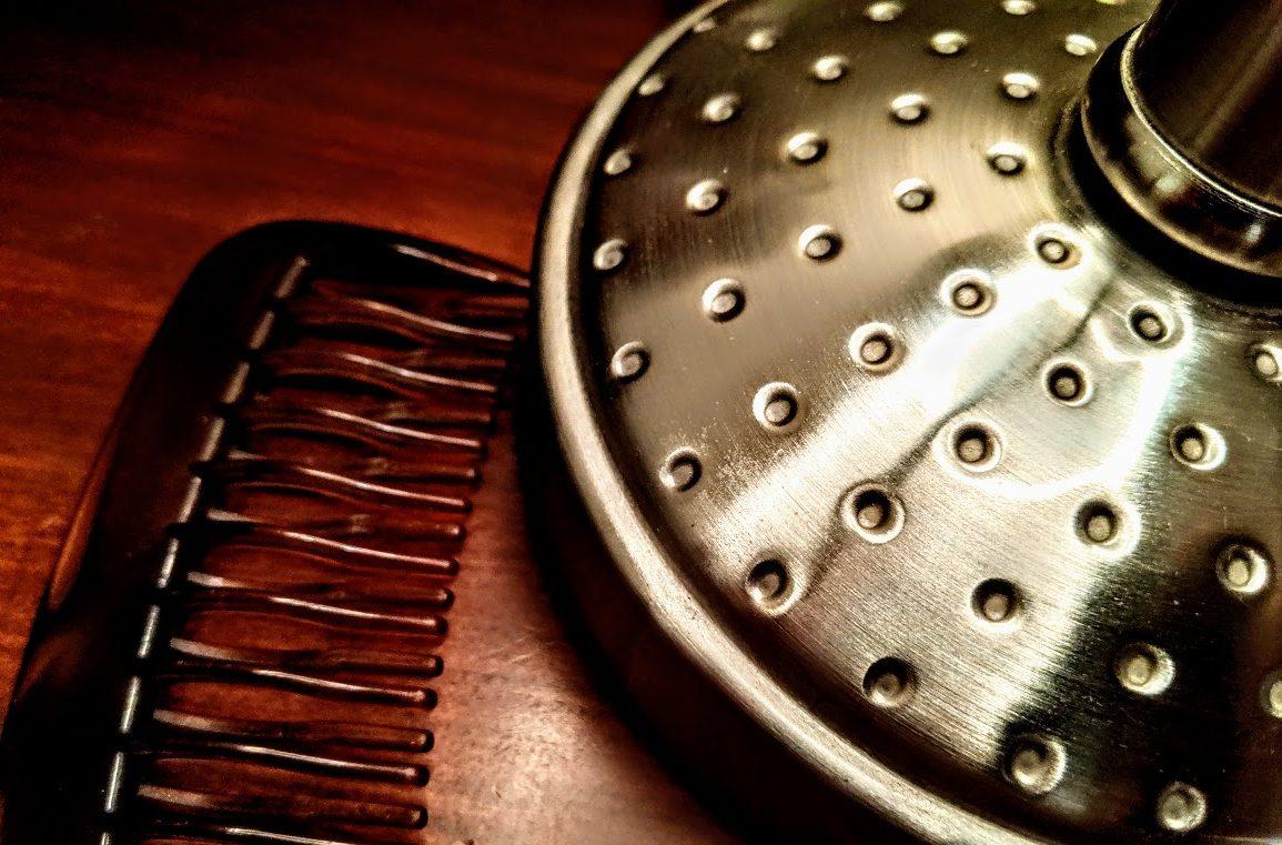 comb on dresser