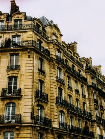 old apartment building in Paris