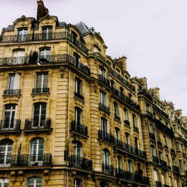 old apartment building in Paris