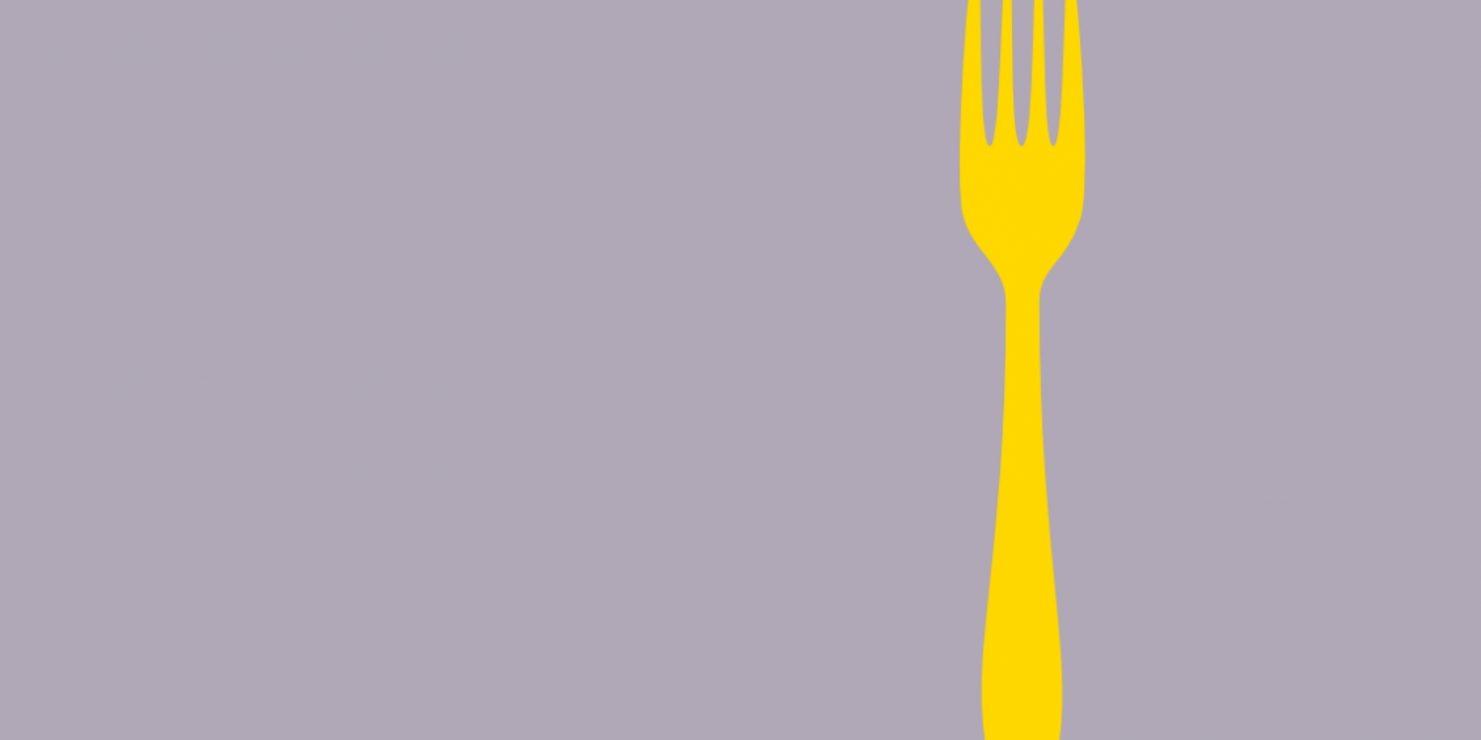 yellow fork